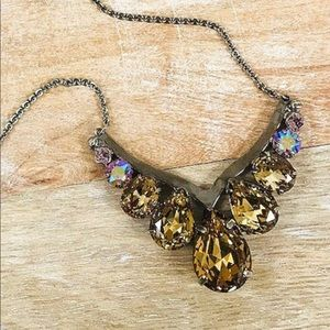 Sorrelli Large Crystal Statement Necklace, NWT